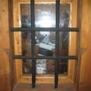 Nové okno v přízemí - pohled zevnitř