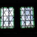 Zasazení nových oken v prvním patře věže